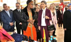 Morocco's Princess Lalla Meryem presides over inauguration ceremony of the Diplomatic Circle Charity Bazaar