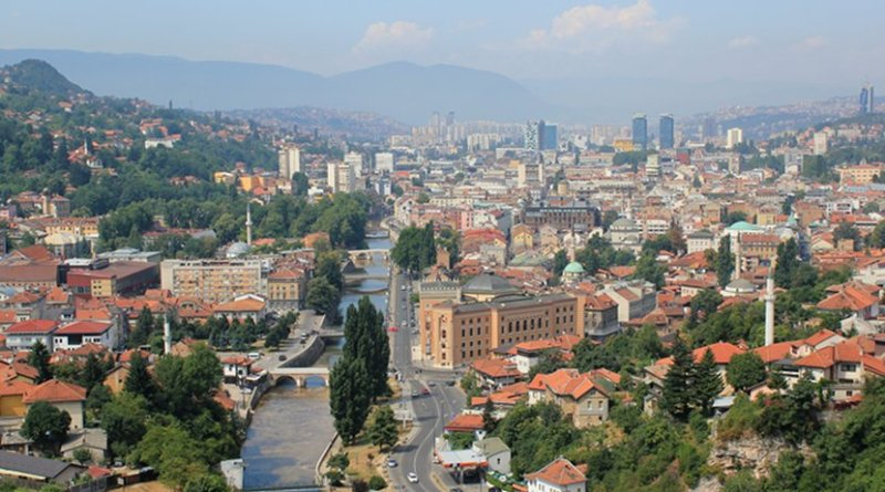 Sarajevo, Bosnia and Herzegovina. Photo by Julian Nitzsche, Wikipedia Commons.