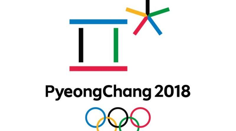 Logo for South Korea's Pyeongchang Winter Olympics.