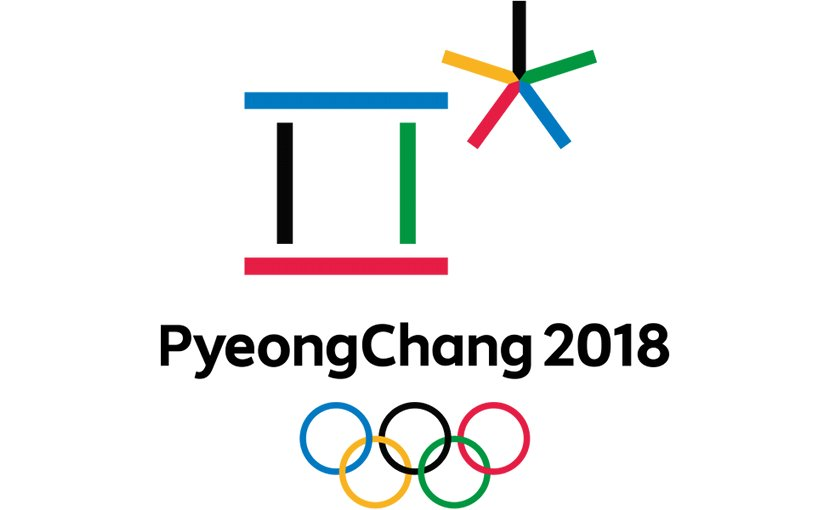 Logo for South Korea's Pyeongchang Winter Olympics.