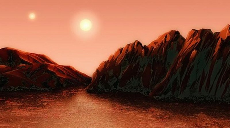 Yale astronomers have taken a fresh look at the nearby Alpha Centauri star system. Credit Illustration by Michael S. Helfenbein.