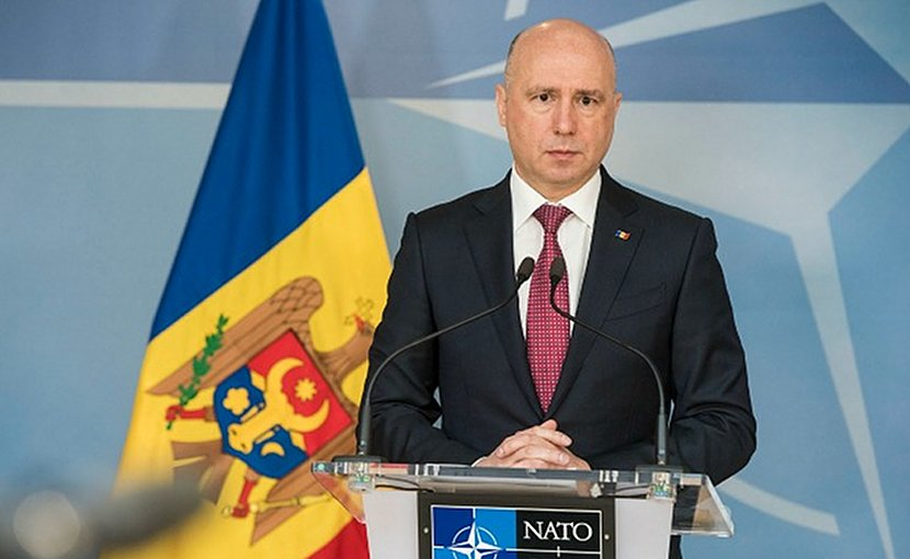 Moldova's Prime Minister Pavel Filip. Photo: Flickr/NATO