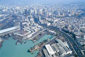 Aerial view of Casablanca