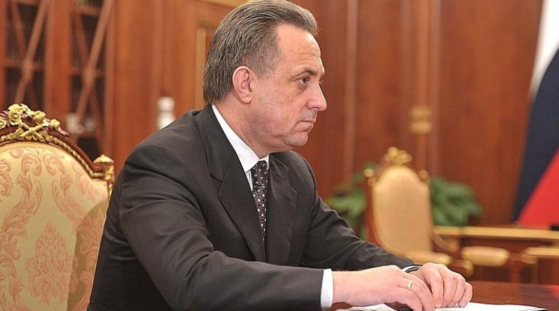 Russia's Vitaly Mutko. Photo Credit: Kremlin.ru