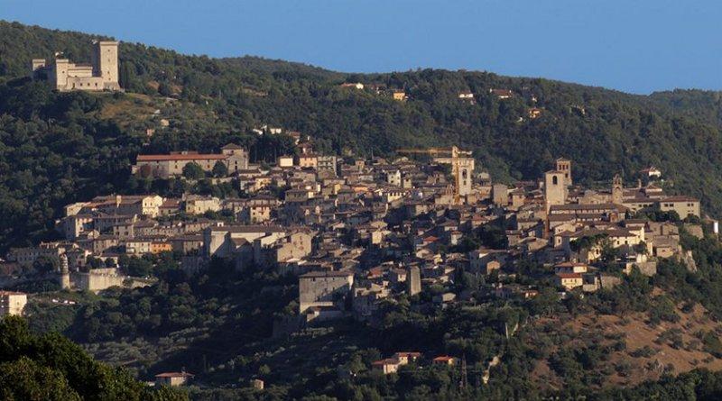 Narni, Italy. Photo by ImagoAnimae, Wikipedia Commons.