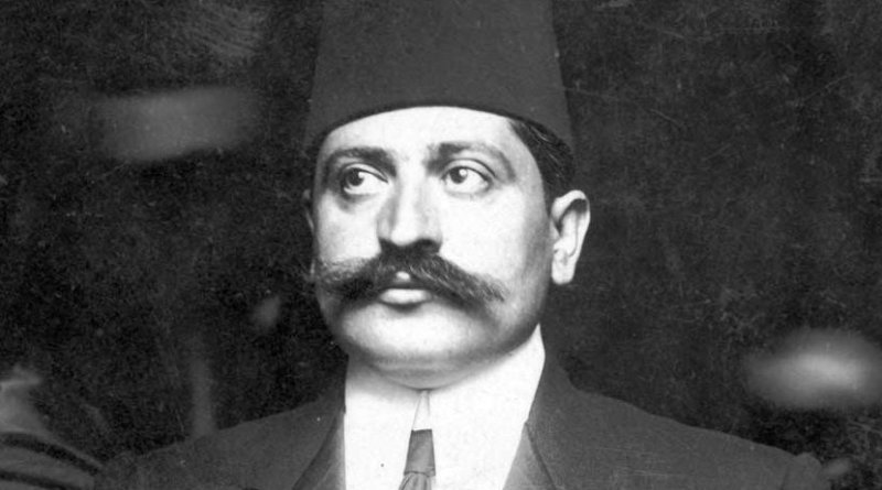"On August 12, 1918, Grand Vizier Talaat Pasha issued an official Ottoman declaration expressing sympathy ""for the establishment of a religious and national Jewish center in Palestine by well- organized immigration and colonization."""