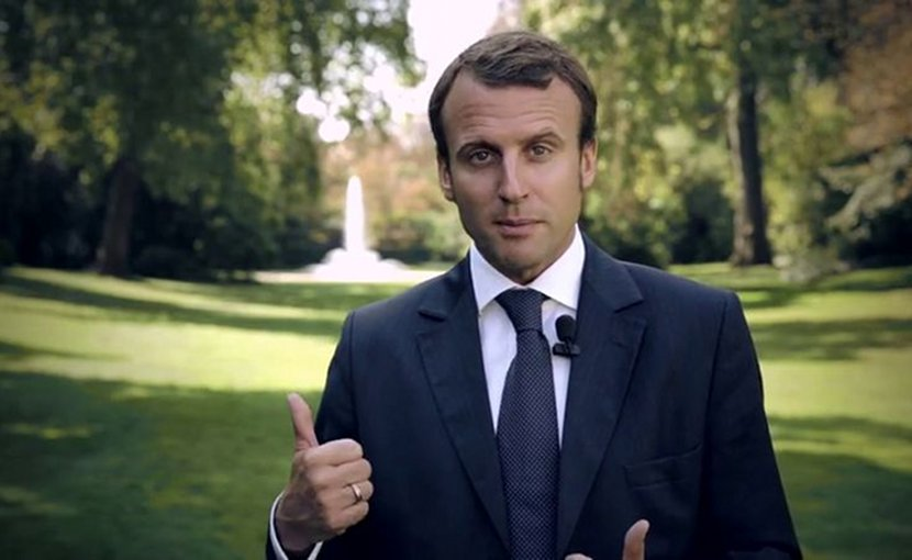 France's Emmanuel Macron. Photo Credit: Gouvernement français, Wikimedia Commons.