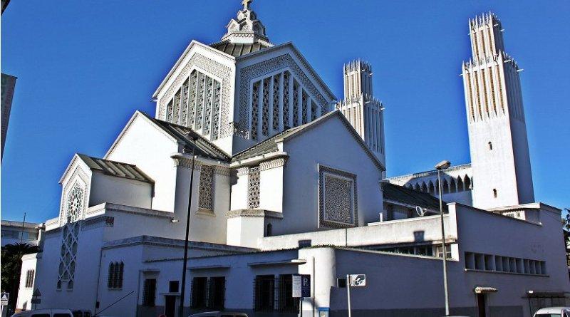Cathédrale Saint-Pierre de Rabat, Morocco. Photo by Nawalbennani, Wikipedia Commons.