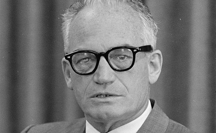 US politician Barry Goldwater. Credit: Trikosko, Marion S., photographer, Wikipedia Commons.