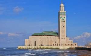 Hassan II Mosque in Casablanca