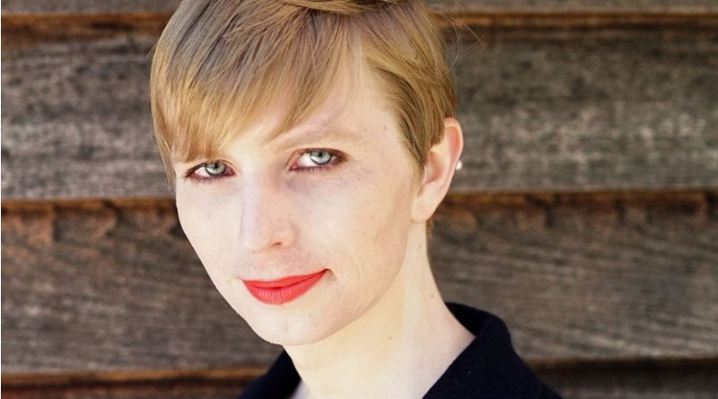 Chelsea Manning. Photo by Tim Travers Hawkins, Wikipedia Commons