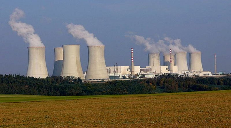 Nuclear power plant Dukovany, Czech Republic. Photo taken by Petr Adamek, Wikimedia Commons.
