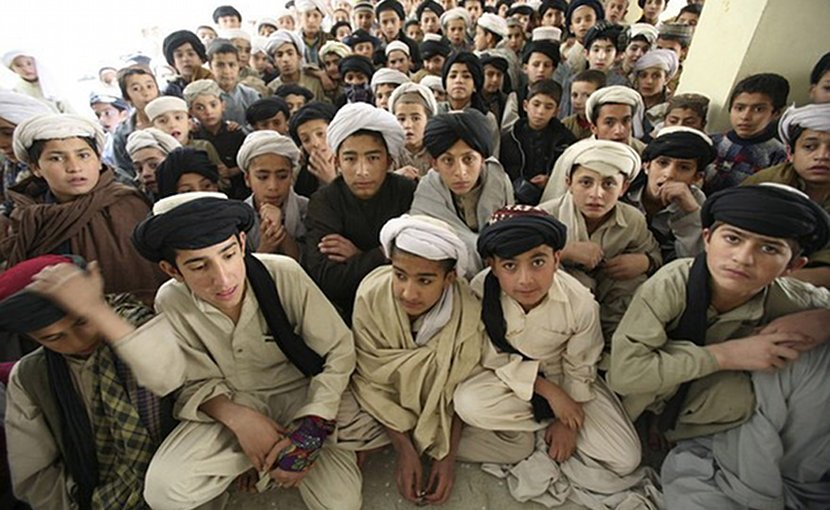 A madrassa in Quetta, Pakistan.