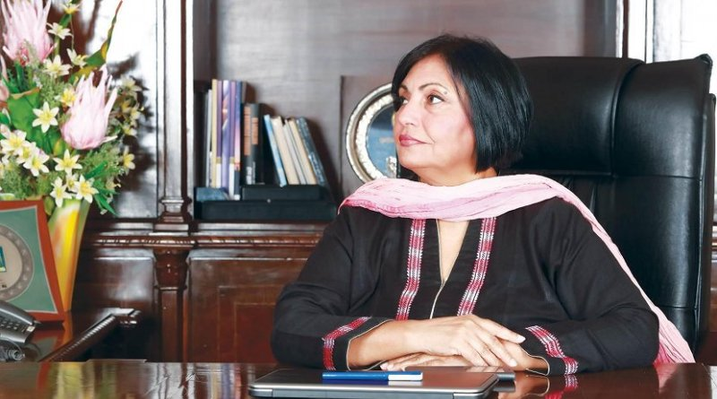 Ms. Tahira Raza, President and CEO of First Women Bank Limited (FWB).