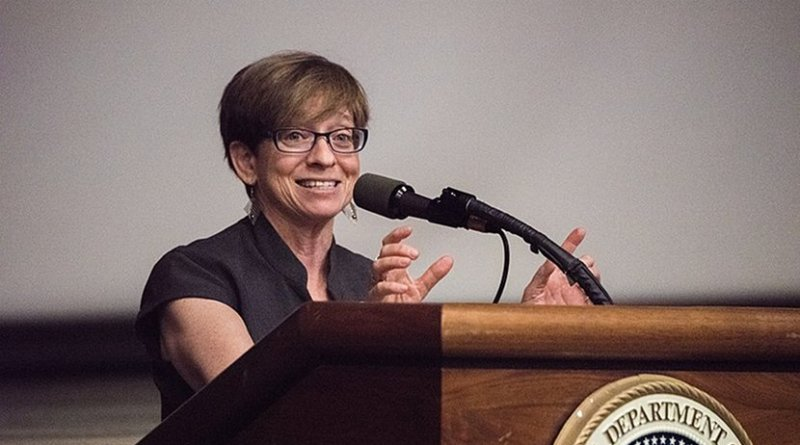 Equal Employment Opportunity Commission (EEOC) Commissioner Chai Feldblum . Credit: U.S. Department of Agriculture, Lance Cheung/Photographer