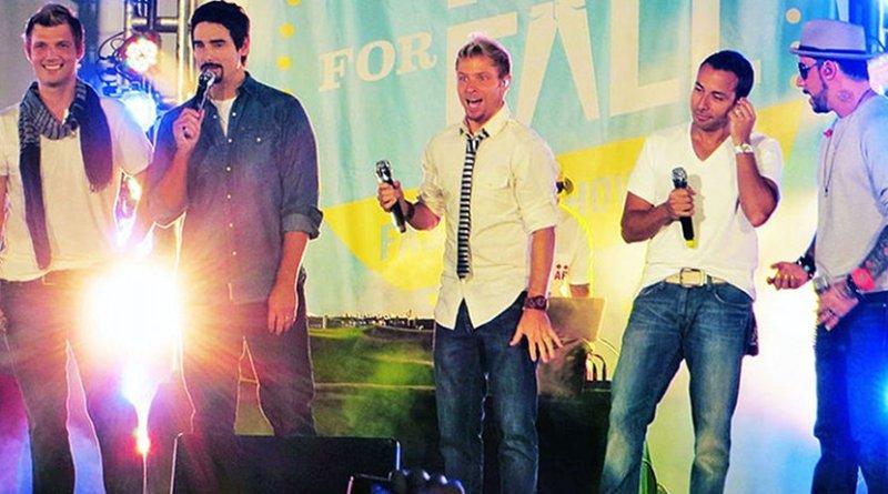 Backstreet Boys. Photo by Krystaleen, Wikipedia Commons.