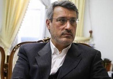 Iran's ambassador to UK Hamid Baeedinejad. Photo Credit: Tasnim News Agency.