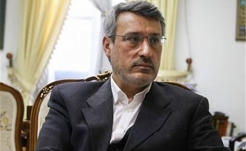 Iran's ambassador to UK Hamid Baeedinejad. Photo Credit: Tasnim News Agency.