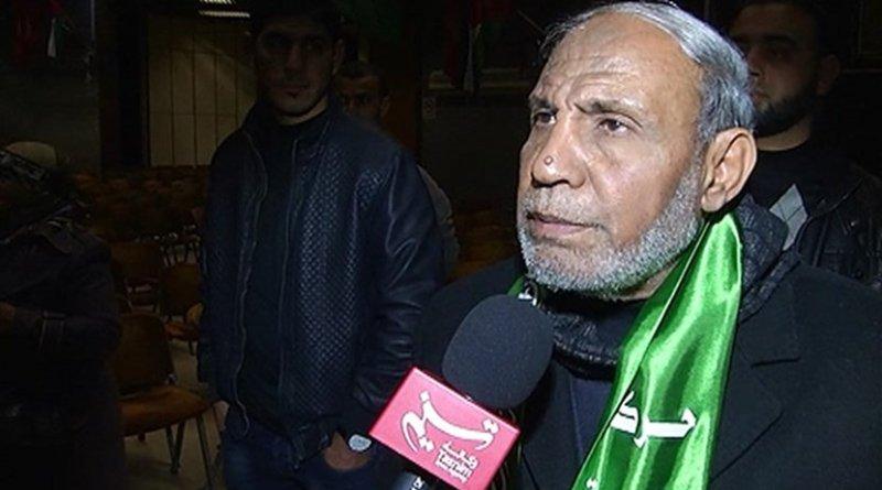 Mahmoud al-Zahar, a member of Hamas' political bureau. Photo Credit: Tasnim News Agency.