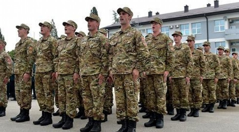 Montenegro's Army. Photo: Montenegrin Defence Ministry.