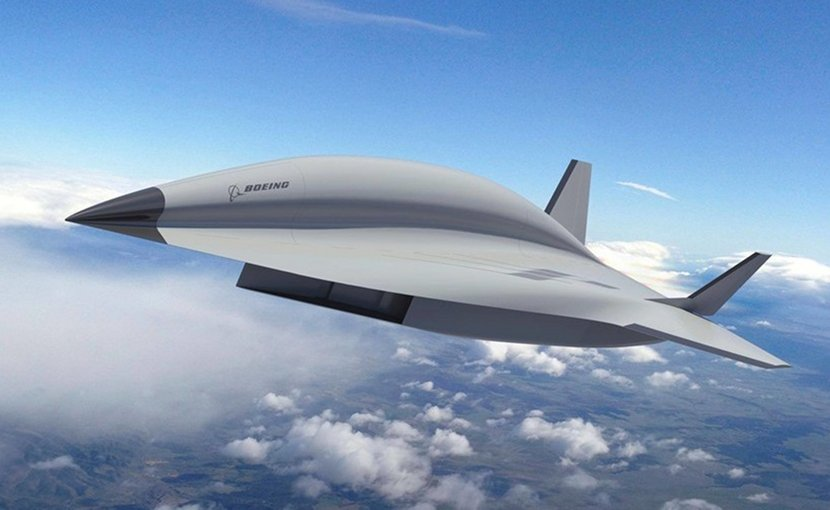 "Artist concept of Boeing's hypersonic ""Valkyrie II"" aircraft. Photo Credit: The Boeing Company / Facebook."