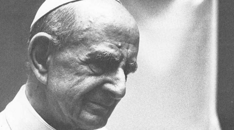 Pope Paul VI. Credit: Wikimedia Commons