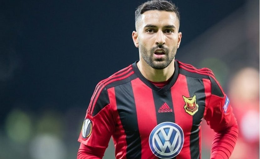 Iranian international striker Saman Ghoddos. Photo Credit: Tasnim News Agency.