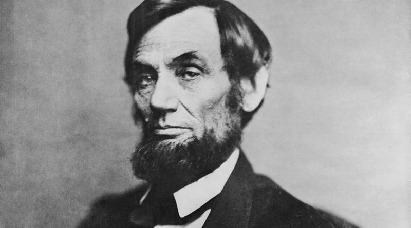 Portrait of Abraham Lincoln by Mathew Brady. Source: Library of Congress, Wikipedia Commons.