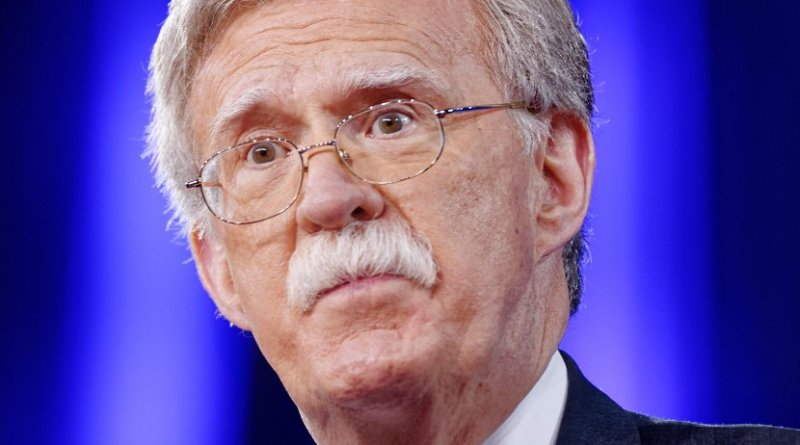 John Bolton. Photo by Michael Vadon, Wikipedia Commons.