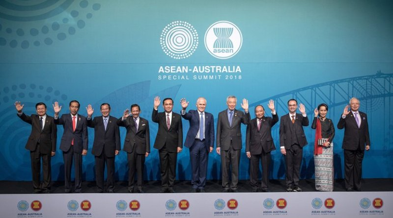 ASEAN-Australia Special Summit 2018 family photo. Photo Credit: ASEAN.