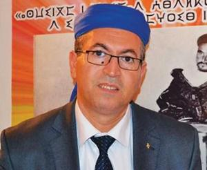 Rachid Raha, President of The World Assembly of the Amazigh and long-time activist of the Amazigh culture