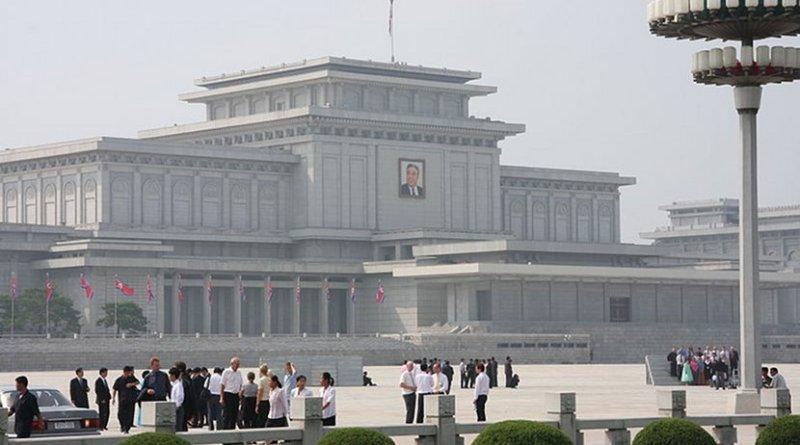 Kumsusan Memorial Palace, Pyongyang, North Korea. Photo by Mark Scott Johnson, Wikimedia Commons.