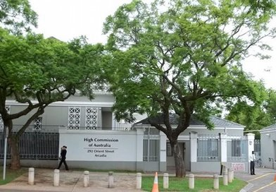Australian High Commission in Pretoria. CC BY 3.0