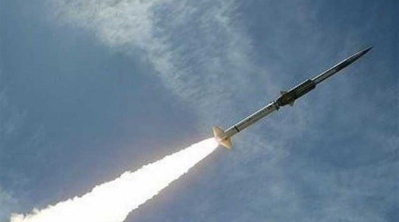 Yemen tests new ballistic missile. Photo Credit: Tasnim News Agency.