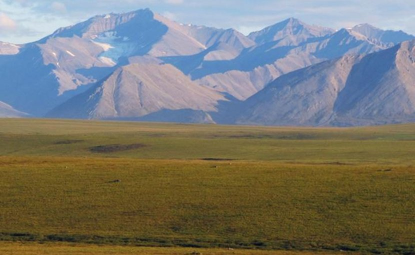 Permafrost underlies much of this tundra landscape in Alaska, as well as similar areas in the circumpolar North. Permafrost contains substantial stores of carbon that are vulnerable to release as climate warms. Credit Christina Schädel