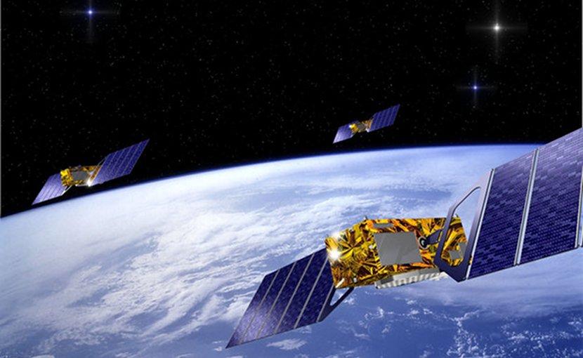Galileo satellite system. Credit: ESA / J.Huart