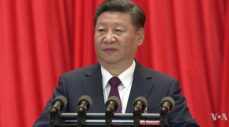 China's Xi Jinping. Photo Credit: VOA