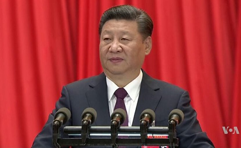 China's Xi Jinping. Photo Credit: VOA