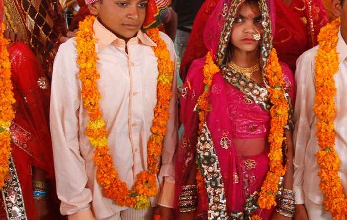 Child marriage. Photo Credit: Sri Lanka government.