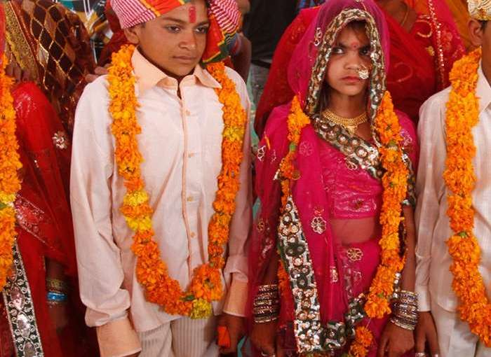 Child marriage. Photo Credit: Sri Lanka government.
