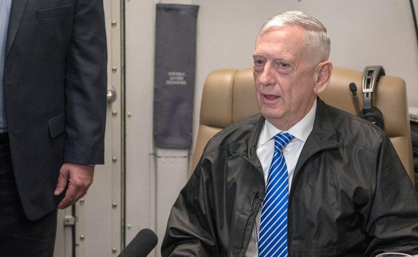 US Defense Secretary James N. Mattis. DoD photo by Army Sgt. Amber I. Smith
