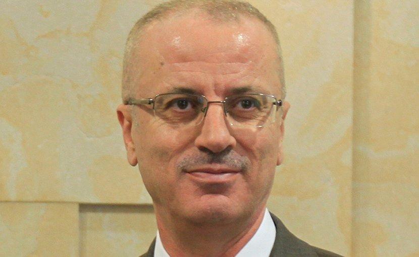Palestine's Rami Al-Hamdallah. Photo by محمد الفلسطيني, Wikipedia Commons.