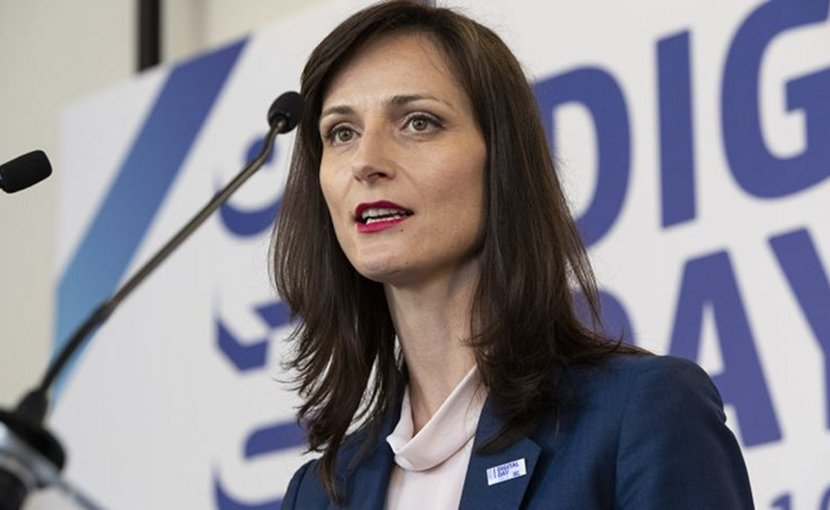 EU Digital Commissioner Mariya Gabriel. Photo Credit: European Commission
