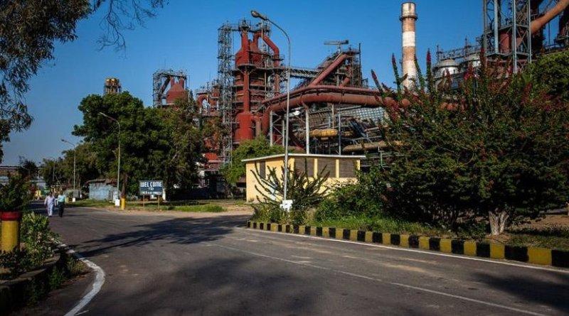 Steel mill in Pakistan.