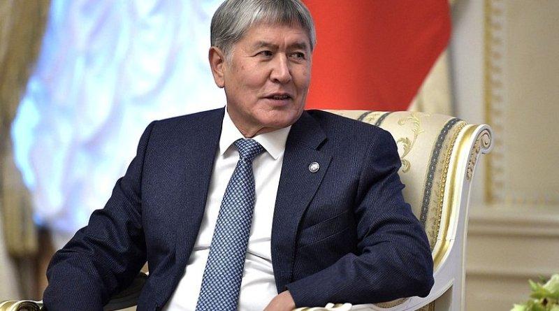 Kyrgyzstan's Almazbek Atambayev. Photo Credit: Kremlin.ru