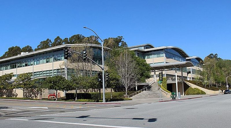 YouTube's headquarters. Photo by Coolcaesar, Wikipedia Commons.