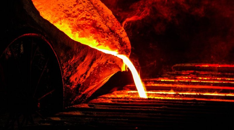 steel metal foundry factory manufacturing