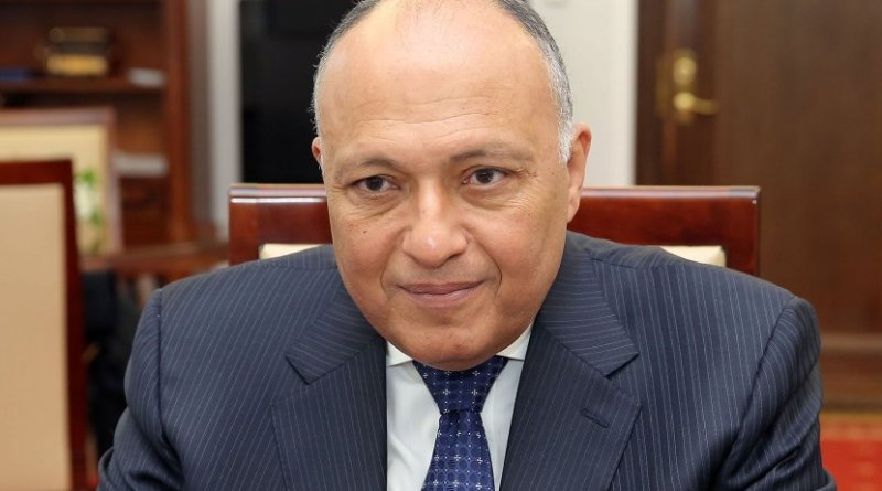 Egypt's Sameh Shoukry. Photo by Katarzyna Czerwińska, Wikimedia Commons.