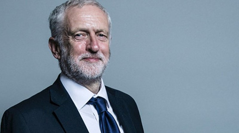 Offical portrait of Jeremy Corbyn. Photo Credit: Chris McAndrew, UK Parliament.