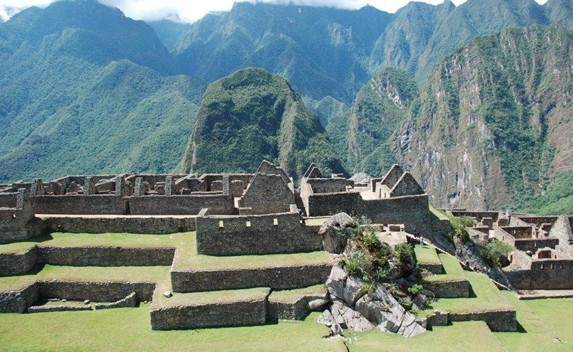 Machu Pichu, Peru.